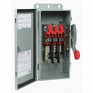Safety Switch,600VAC/250VDC,3PST,30A