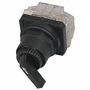 Non-Illuminated Selector Switch, Size: 30mm, Position: 2, Action: Maintained / Maintained