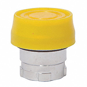 Metal Push Button Operator, Type of Operator: Flush Button, Size: 22mm, Action: Momentary Push