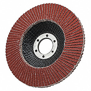 Flap Disc,5/8 in.-11,40 Grit,13,300 rpm