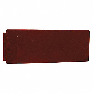 "Reflector,Rectangular,Red,4-5/16"" L"