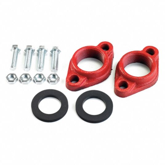 Cast Iron Flanged Kit, 1-1/2 NPT Pipe Size (In.)