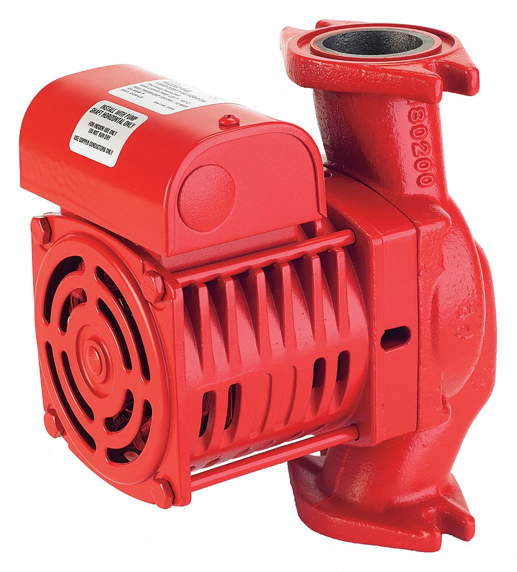 1/6 hp HP Cast Iron In Line Centrifugal Hot Water Circulating Pump