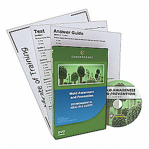 Mold Awareness and Prevention,DVD,13 min