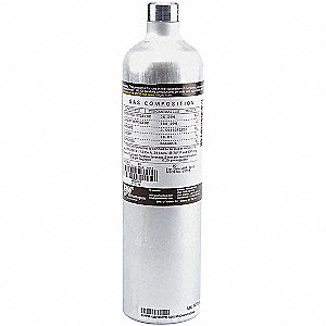 Calibration Gas,Carbon Dioxide,34L
