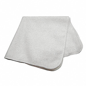 "Medium Duty Microfiber Cloth, White, 16"" x 16"", 12 PK"