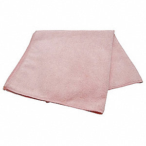 "16""x16"" Med Duty Pink Microfiber Cloth"
