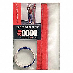 Dust Barrier Door, Standard, 1 EA