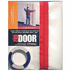 DUST BARRIER DOOR CLEAR 4FT X 8FT