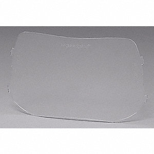 Outside Protec Plate,4x6In,Clr,PK50