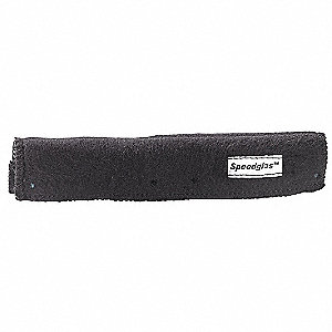 Sweatband,FR Cotton,Black,PK12
