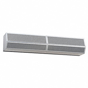 Air Curtain, 9600 cfm, 79 dBA @ 10 Feet, Max. Door Width 7 ft., Max. Mounting Height 16 ft.