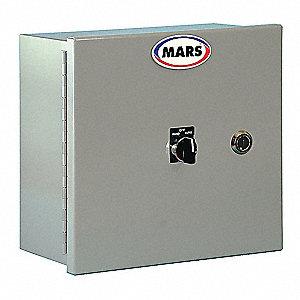 Mars Air Doors Motor Control Panel Voltage 208 230 460 10 3 8