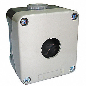 Pushbutton Enclosure, 4, 4X NEMA Rating, Number of Columns: 1
