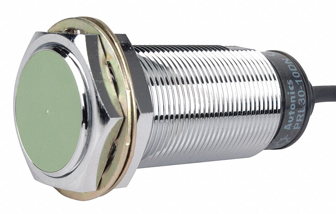 20 Hz Inductive Cylindrical Proximity Sensor with Max. Detecting Distance 10.0mm