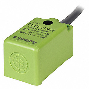 200 Hz Unshielded Rectangular Proximity Sensor; 17mm x 31mm x 17mm