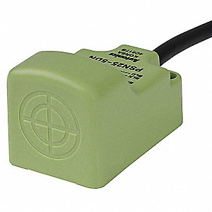 20 Hz Unshielded Rectangular Proximity Sensor; 25mm x 36mm x 25mm
