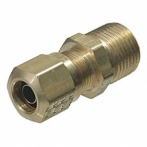 Male Connector, Compression, 1.02In, 150psi