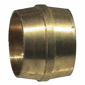 Tube Sleeve,Compression,Brass,150psi