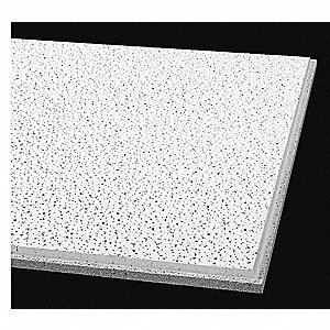 "Ceiling Tile,24"" W,48"" L,5/8"" Thick,PK10"