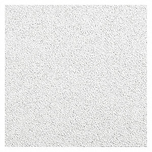 "Ceiling Tile, 24"" Width, 48"" Length, 3/4"" Thickness, Mineral Fiber"