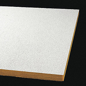"Ceiling Tile,6"" W,48"" L,1"" Thick,PK12"