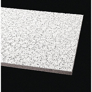 "Ceiling Tile,24"" W,60"" L,5/8"" Thick,PK10"