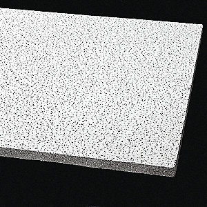 "Ceiling Tile,24"" W,24"" L,3/4"" Thick,PK12"