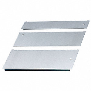 Gland Plate, Steel, Zinc Plated Finish