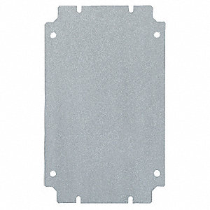 Mounting Panel, Carbon Steel, For Use With: Mfr. No. 1510510, 1538510, 1 EA