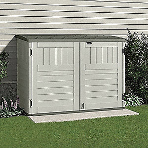 Outdoor Storage Shed,70 1/2inWx44 1/4inD