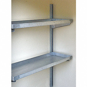 Shelving Kit, For Use With Only 16 Drum Lockers Without Explosion Relief Panels