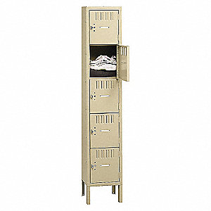 BS5-121512-1 SU BOX LOCKER-GRY
