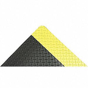 CUSHION TRAX 2X3 BLACK/YELLOW