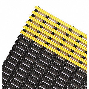 SAFETY GRID 4X40 BLACK/YELLOW