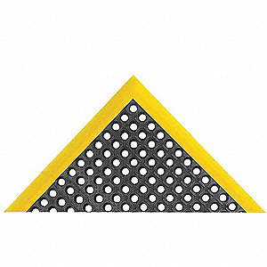 SAFETY STANCE 26X40 YELLOW/BLACK