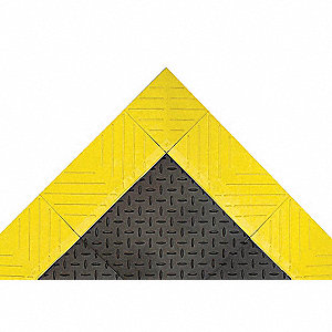 DIAMOND FLEX-LOK 30X60BLK/YLW SOLID