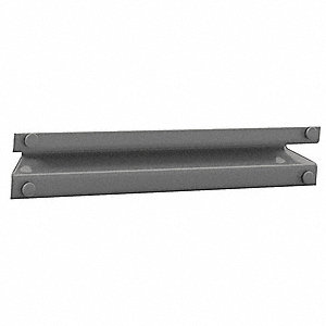 Supports, Front To Back,Med. Gray