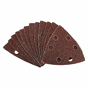 "Emery Cloth Sanding Pad, 3-1/8"", 3-1/2in."