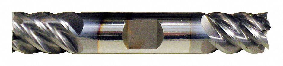 TiAlN Cleveland Corner Radius End Mill 9//64 Milling Dia Number of Flutes: 4 9//16 Length of Cut C81827 Pack of 2