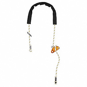 WorkPostioning Lanyard,Adjustable,13ft L