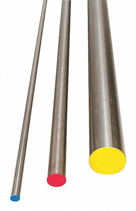GRAINGER APPROVED A2D13646 Air Hard Drill Rod,A2,13//64,0.2031 In