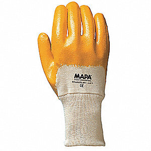 GLOVES NITRIL PALM CTD 9-9-1/2