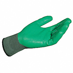 Nitrile Coated Gloves, Black