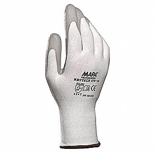 Cut Resistant Gloves,Gray,9,PR