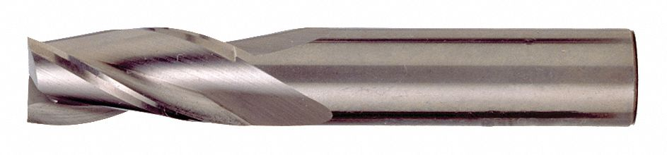 Number of Flutes: 3 CEM-SE-3 1//2 Length of Cut C81662 Cleveland Corner Radius End Mill 1//8 Milling Dia TiAlN
