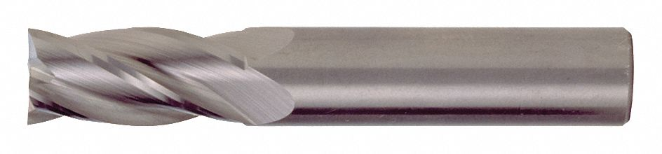 TiAlN CEM-SE-4 3//8 Milling Dia Cleveland Corner Radius End Mill C81871 Number of Flutes: 4 1 Length of Cut