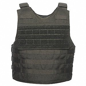 Tactical Response Carrier,Extrnl,Blk,XL