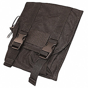 MOLLE Tactical Pckt,Large Utility,Black