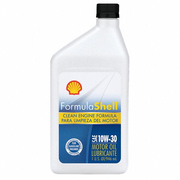 Formula shell motor oil 1 qt 10w 30 conventional 33gp21 for Formula shell motor oil